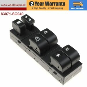 83071-SG040 NEW Master Power Window Switch Fits For  Subaru Forester 2014-2016