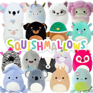 """Squishmallows - Cuddle & Squeeze Super Soft 5"""" Squishy Plush Toy **FREE DELIVERY"""