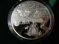 Ukraine Silver coin 10 UAH 2014: 220 YEARS OF THE CITY OF ODESSA  PROOF