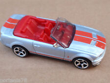 2013 Matchbox FORD SHELBY GT500 CONVERTIBLE 55/120 Adventure City LOOSE Silver