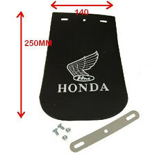 HONDA LOGO MOTORCYCLE MUD FLAP LARGE 140mm X 240mm RUBBER MUDFLAP