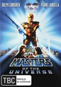 Masters of The Universe DVD New and Sealed Australian Release