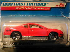 1999 FIRST EDITIONS N° 910 MONTE CARLO CONCEPT CAR 1/64 HOT WHEELS IMPORT US