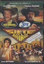 Siete En La MIra 3 Pk DVD NEW Los Dos Amigos El Hijo De Juan Charraqueado Y Mas!