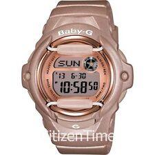 -NEW- Casio Baby-G Pink/Champagne Watch BG169G-4