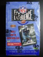 1996 Classic Football NFL Experience Box Factory Sealed 24 Packs