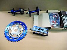 Raleigh Burner Ultra Blue set parts Old School BMX NOS vintage