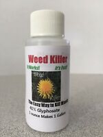 41% Glyphosate 1 Ounce Weed Killer Concentrate Makes 1 Gallon