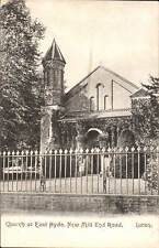 Luton. Church at East Hyde, New Mill End Road by W.H.Cox, Luton.