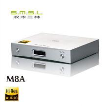 SMSL M8A DAC ESS ES9038Q2M USB XMOS XU208 DSD512 768KHZ USB Optical/Coaxial
