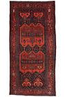 Vintage Persìan Koliai 5'x10' Blue Wool Tribal Hand-Knotted Oriental Rug