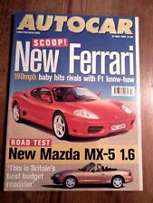 AUTOCAR MAGAZINE 27-MAY-98 - Mazda MX-5, Volvo C70 2.5T, Renault Megane TDi