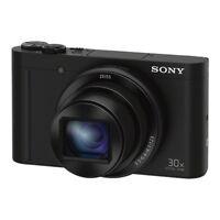 Sony CyberShot DSC-WX500 Digital Camera (Black)