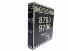 Ford 8700, 9700 Tractor Factory Service Manual Repair Shop Book NEW with Binder