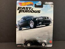 Hot Wheels BMW M3 E36 Black Fast and Furious GBW75-956K 1/64