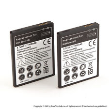 2 x 1800mAh Battery for Samsung Galaxy S II 2 i9100 International