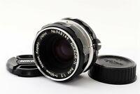 Excellent++ Nippon Kougaku Japan Nikkor-H Auto 50mm f/2 MF Lens from Japan # 525