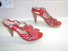 Dorothy Perkins, Ladies Leather Sandals, Size Uk 6, Really Good Condition