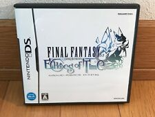Final Fantasy Crystal Chronicles Echoes Of Time NINTENDO DS From JAPAN Seller