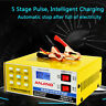 Car Automatic Intelligent Pulse Repair 12V/24V 200 AH Type Battery Charger