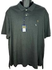 Polo Ralph Lauren Pima Soft Touch Men's XXL Logo Short Sleeve Polo Shirt New