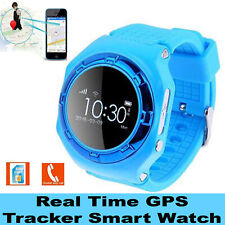 Tracking Smart Watch Bluetooth GPS SOS Call Real Time Tracker For Kids Boys Girl