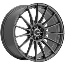 "4-Konig 48MG Rennform 18x9 5x100 +38mm Matte Grey Wheels Rims 18"" Inch"