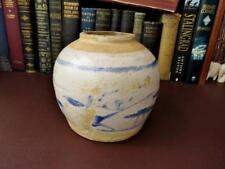 Antique Chinese Stoneware Ginger Jar