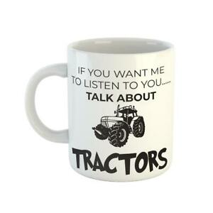 Taractors Farmer Cool Ceramic Funny Birthday Gift New Present Coffee Tea Mug