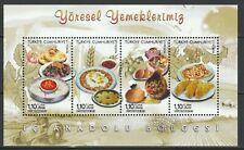 Turkey 2013 Traditional Food MNH sheet