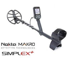 Nokta Simplex+ Metalldetektor  Metallsonde Metallschgerät