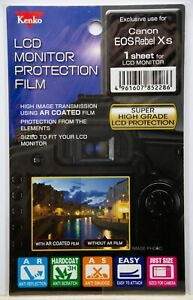 Kenko LCD Monitor Protection Film for Canon EOS Rebel Xs Camera Screen Protector