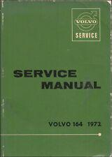 1972 Volvo 164 Shop Manual Original Dealer OEM Reparatur Service Fabrik Buch