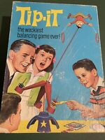 VINTAGE TIP IT 1965 GAME COMPLETE IDEAL TOY CORP BALANCING GAME ORIGINAL BOX