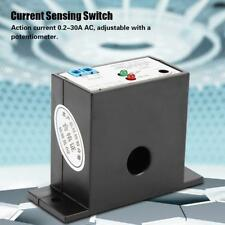 Normally Open Current Sensing Switch Adjustable 0.2-30A SZC23-NO-AL-CH w/LED TOP