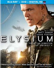 Unused ELYSIUM DVD, Ultraviolet HD Digital Download, Case, Artwork, Matt Damon