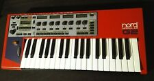 Clavia Nord Modular G2 synthesizer synth red