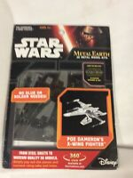 Metal Earth 3D Metal Model Kit - STAR WARS -Poe Dameron's X-Wing Fighter MMS269