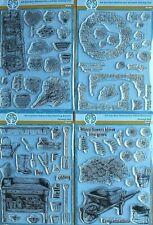 Garden Memories - various - Oakwood Archer A5 Cling Clear Stamp Set