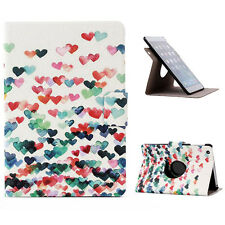 NEU 360 Rotierbar Liebe Klapp-Hülle stand-schutzhülle für iPad mini 1 2 3 Retina