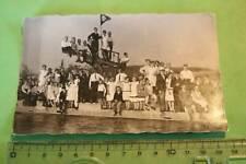 tolles altes Foto - viele Personen - Freibad ? - Göttingen - 1920-30 ???