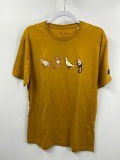 Friends Mustard Chicken, Cat, Duck, Monkey T-shirt Size: XL NEW