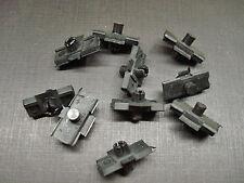 10 pcs Mopar fender quarter panel door side belt moulding clips NOS