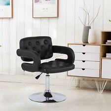 FoxHunter Beauty Salon Chair Barber Hairdressing Hair Cut PU Leather SC02 Black