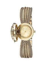 Anne Klein Womens made with Swarovski Crystal Accented Watch