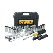 DeWALT DWMT45049 1/2'' Mechanics Nano Bit Tool Set, Polished Chrome (49 PC)