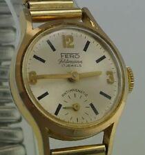 FERO Feldmann 17 Jewels Antimagnetic - Damenuhr / Handaufzug / vergoldet