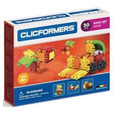 Genuine Authentic Clicformers Set 30 pcs set - 3D Building constructions toys