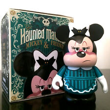 "DISNEY VINYLMATION 3"" HAUNTED MANSION MINNIE MOUSE & FRIENDS MAID HALLOWEEN TOY"