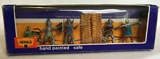 Vintage Herald 1960's, Boxed Knights, made in Hong Kong, 54mm scale plastic.